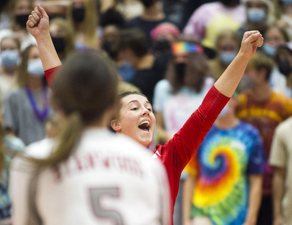 Stanwood volleyball, 9.27.21