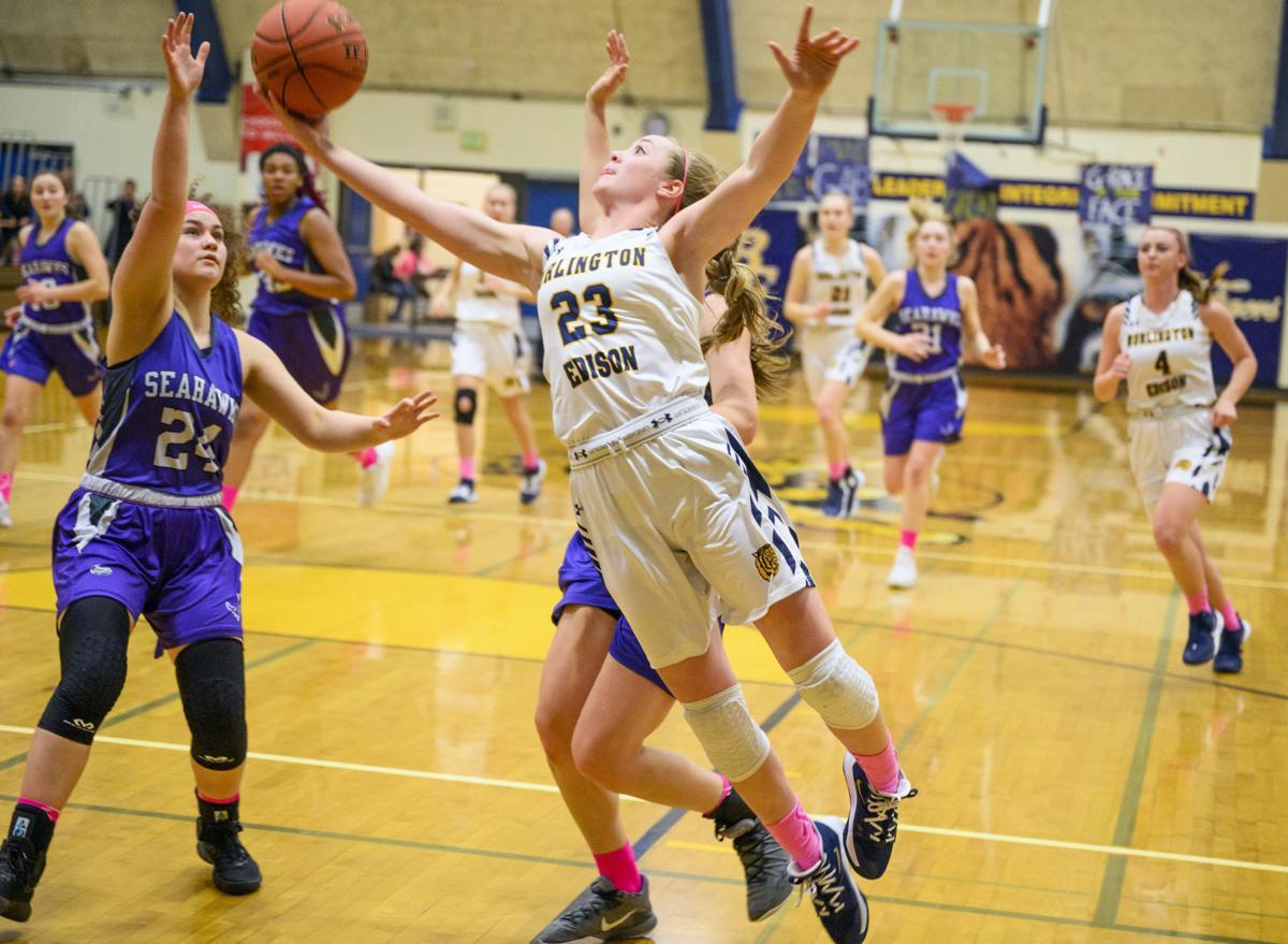 Anacortes at BEHS girls' basketball