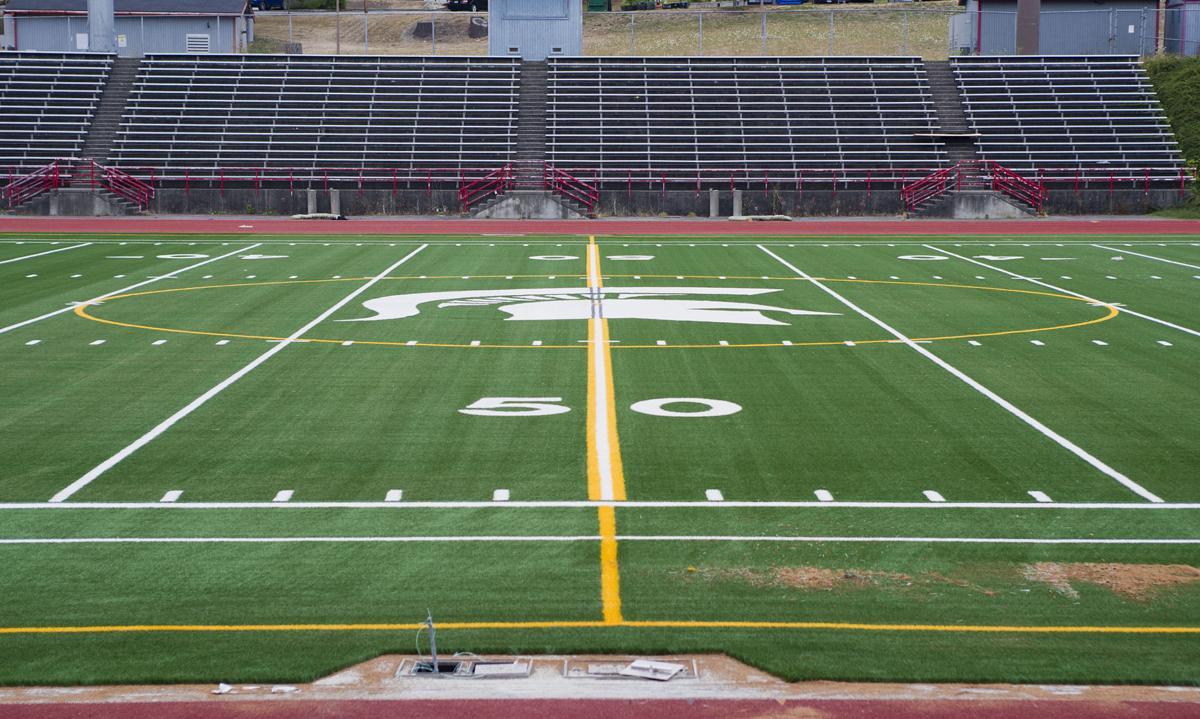 Stanwood stadium field, 8.9.19