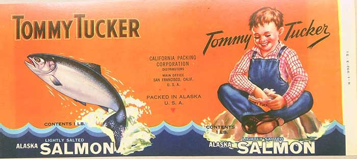 Vintage salmon can labels offer unique look at cannery