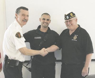 CIFR lieutenant is American Legion's state Firefighter of the Year