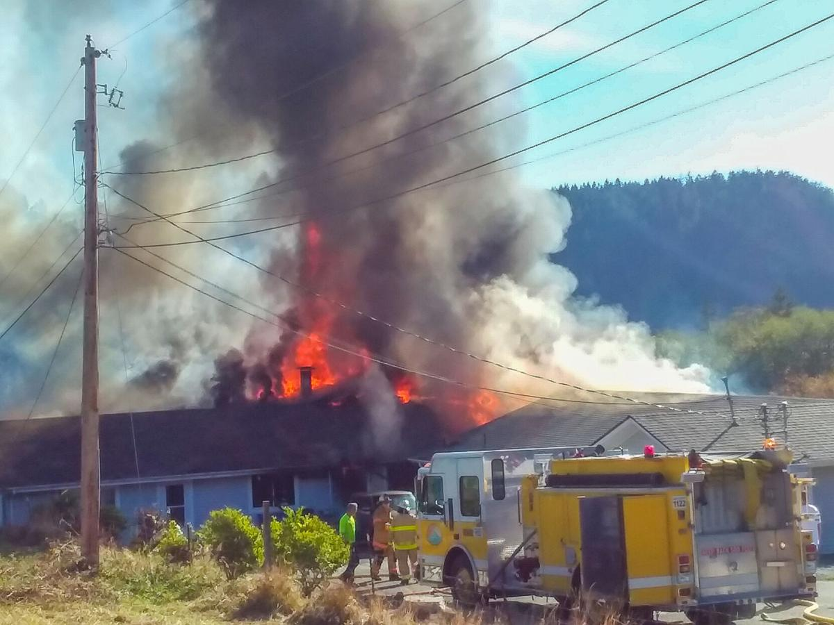 Campbell Lake Road house fire