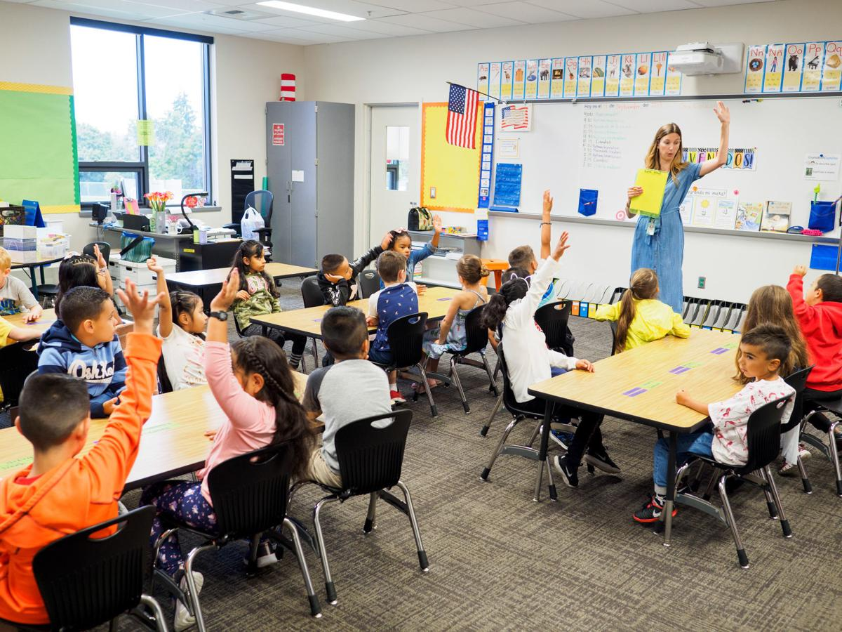 First day of school at Madison Elementary