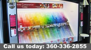 A portion of our Paint Selection
