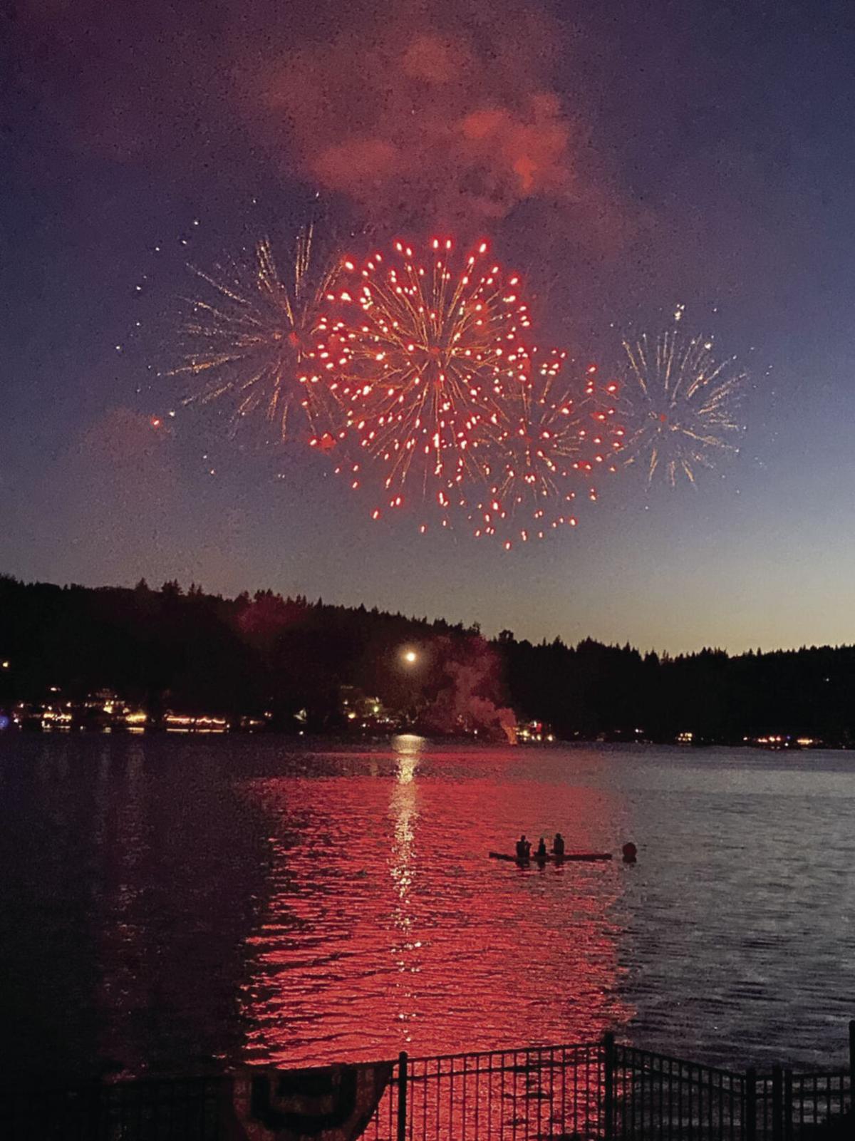 Big Lake 3rd of July celebration by Linda Frizzell