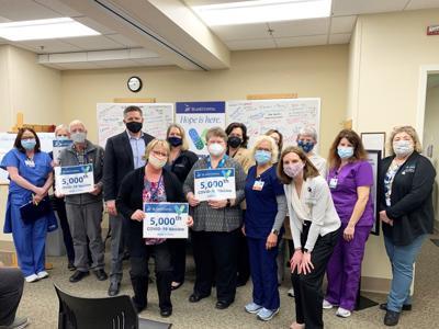 Island Hospital celebrates 5,000 vaccine dose given