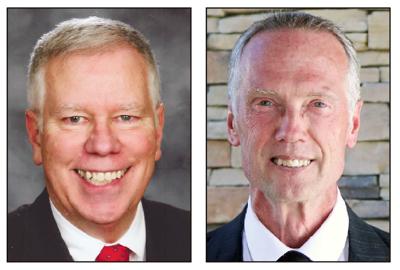 Al Schreiber, left, and Gary Forslund