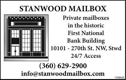 Stanwood Mailbox