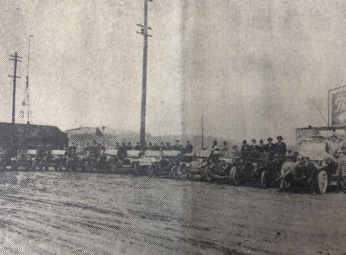 Motorists visit Anacortes 1911