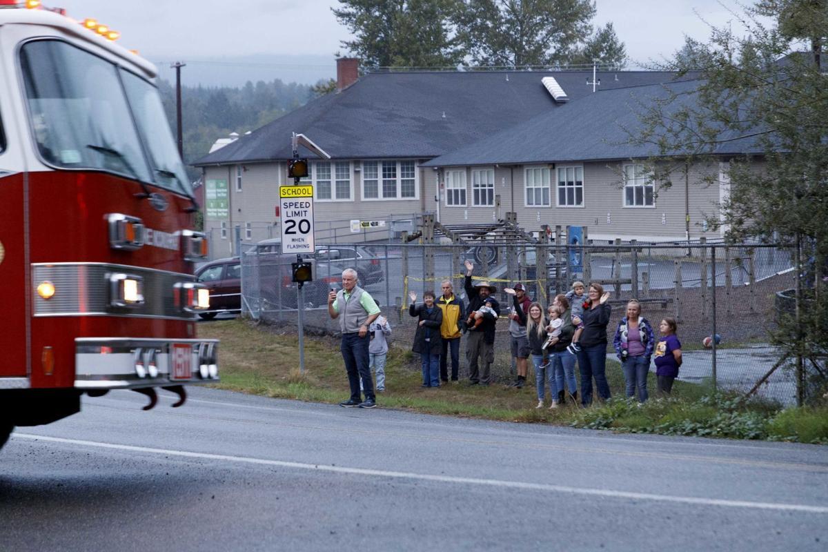 9-11 procession