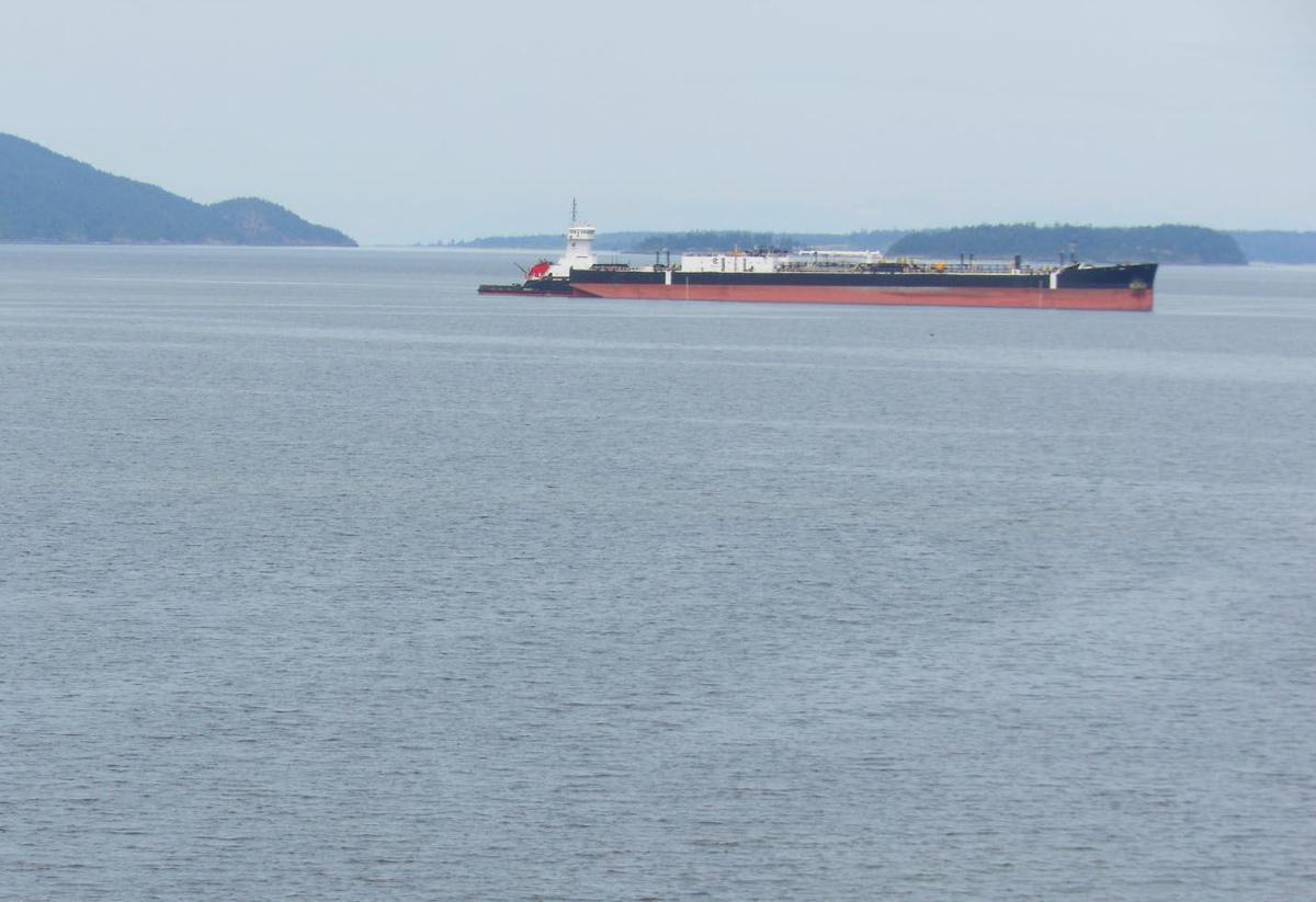 Samish Island community upset about anchoring ships