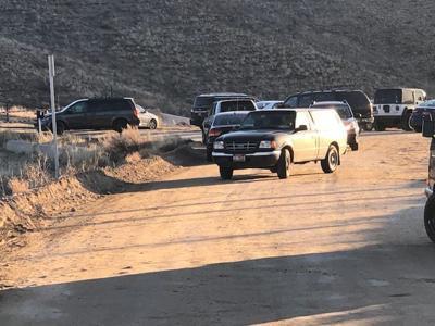 Traffic congestion at Table Rock Mesa