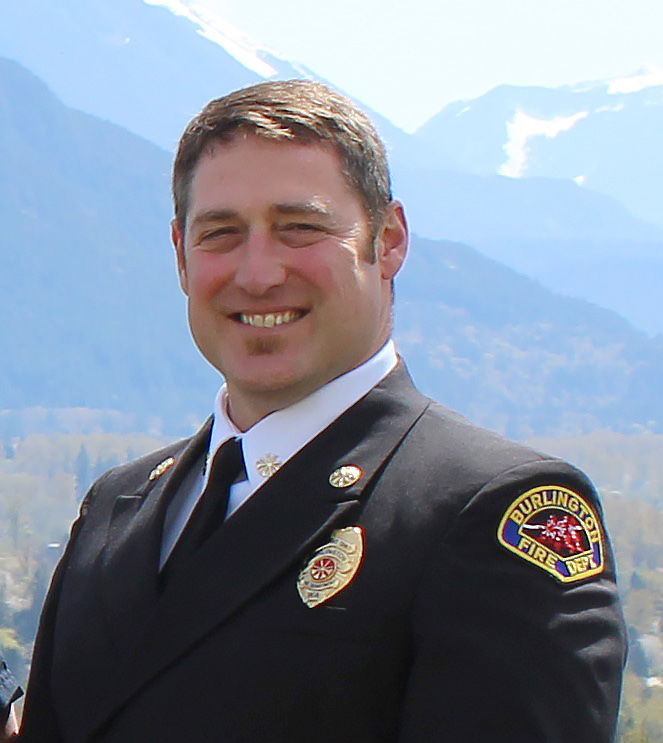 Rob Toth named new Burlington fire chief
