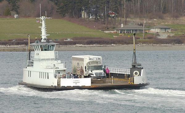 Guemes Ferry Haul Out Work Starts Sept 24 Local News Goskagit Com