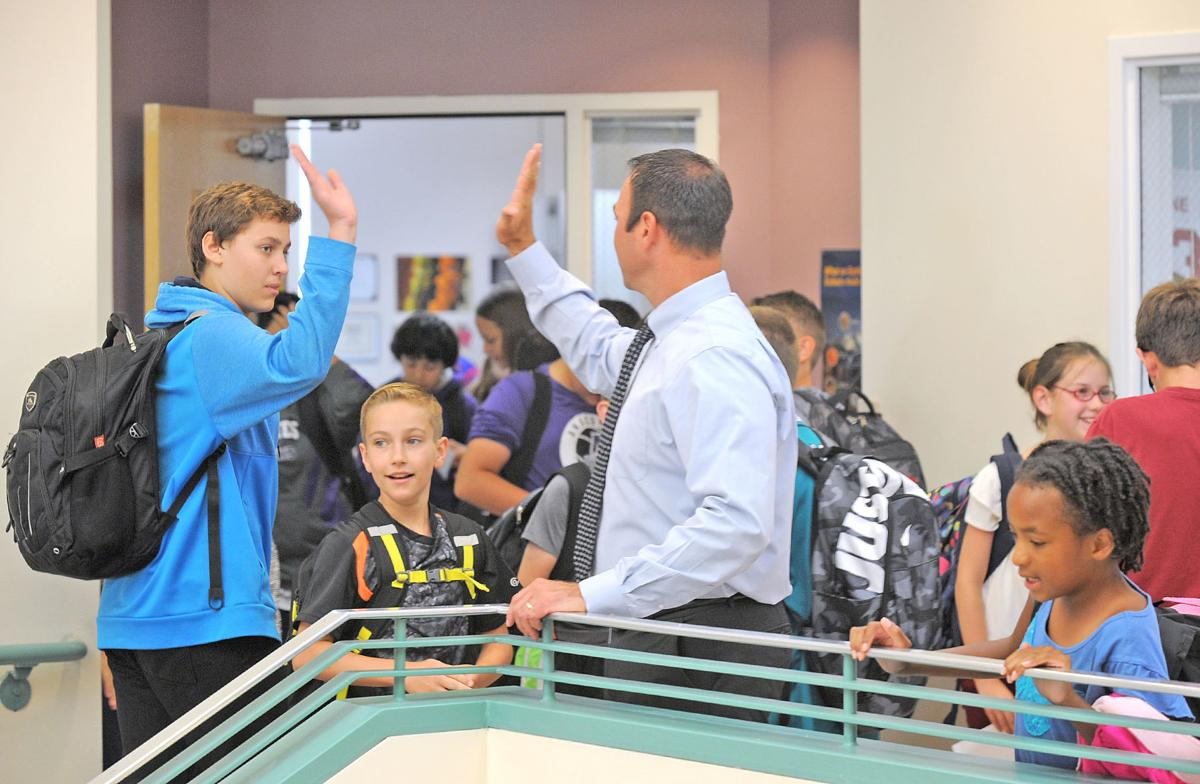 Sixth-graders join Anacortes Middle School