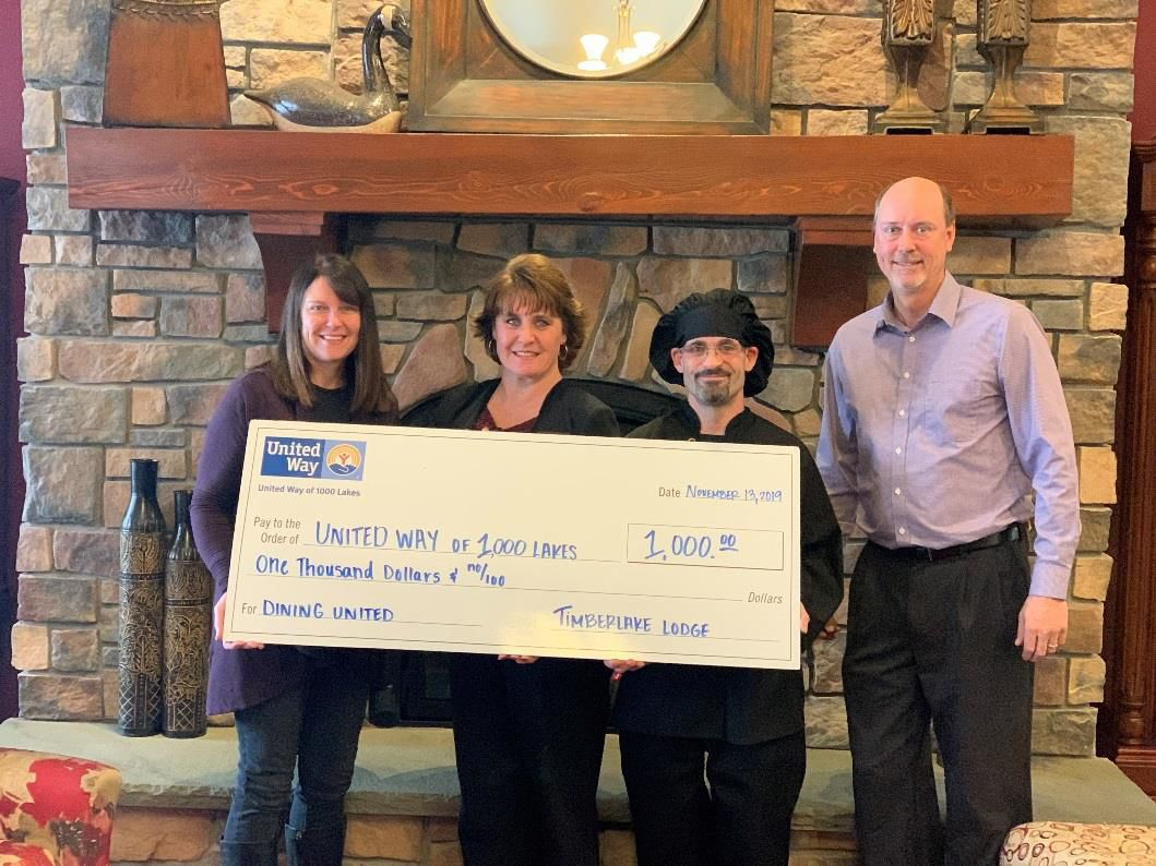 Local restaurants encourage diners to support United Way
