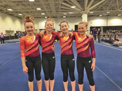 Rapids gymnasts compete at state meet | Sports