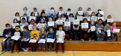 King Elementary citizenship winners