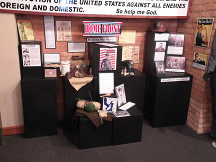 Veterans exhibit
