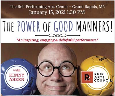 Reif Center reopens with 'The Power of Good Manners' on Jan. 15