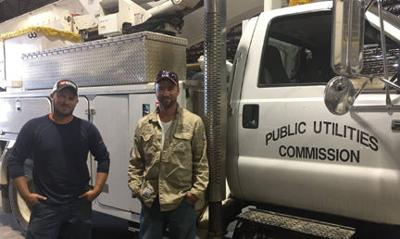Local lineworkers deployed to provide Hurricane Dorian relief