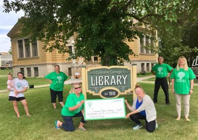 Greenway Area Community Fund awards $1,000 to the Coleraine Public Library