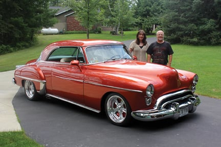 1950 Oldsmobile Rocket 88 Holiday Coupe Grand People Grandrapidsmn