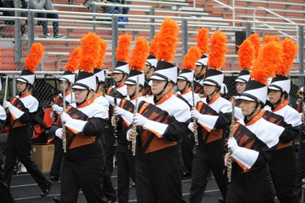 Grand Rapids High School Marching Band