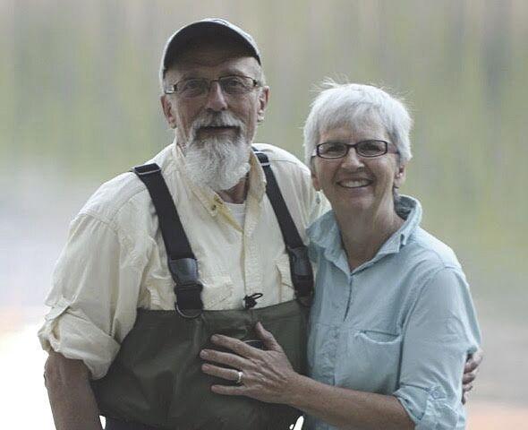 Al Gustaveson and LeeAnn Baker