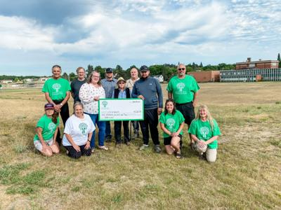 Greenway Area Community Fund donates to Greenway Sports Complex Improvement