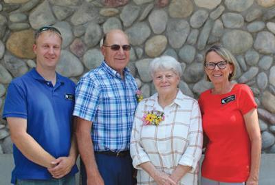 2019 Outstanding Senior Volunteers Susan Hayes and Marn Flicker