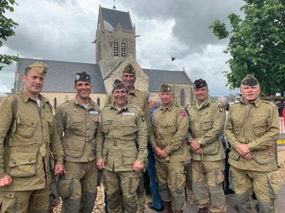'Normandy is sacred ground'