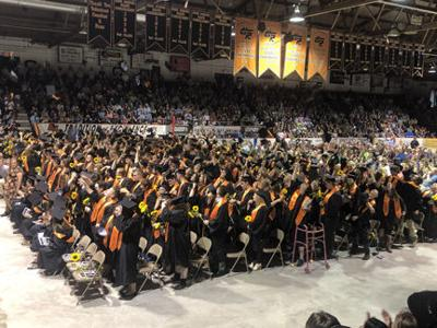 Class of 2019 sends their caps flying