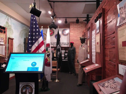 Veterans exhibit now open