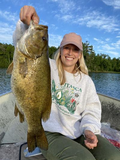 Catch and release smallmouth