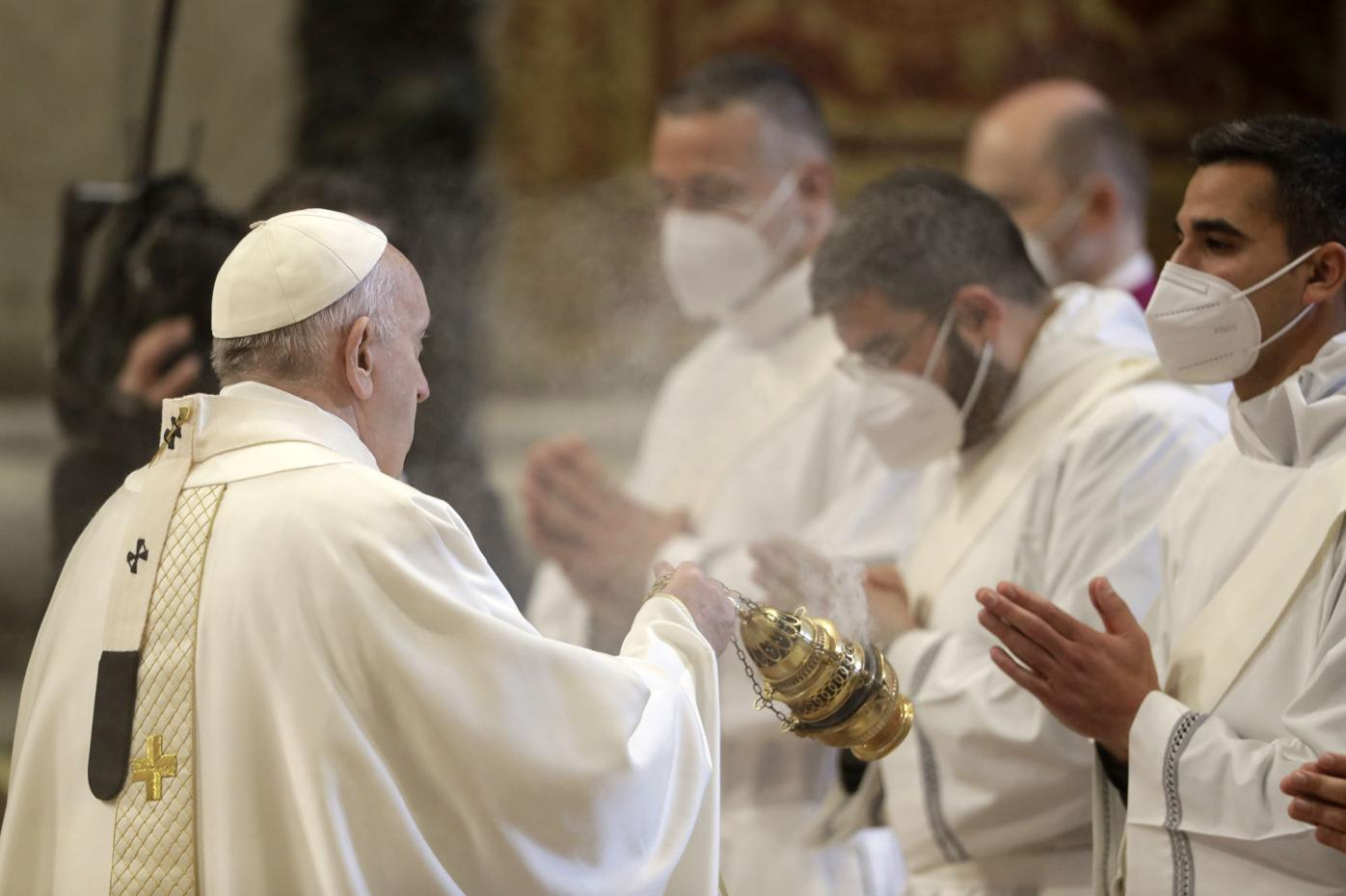 Vatican Pope New Priests