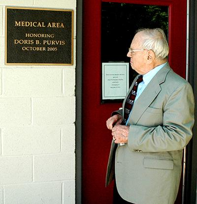 Col. Purvis Recognized For His$50,000 Gift To Spay/Neuter Clinic