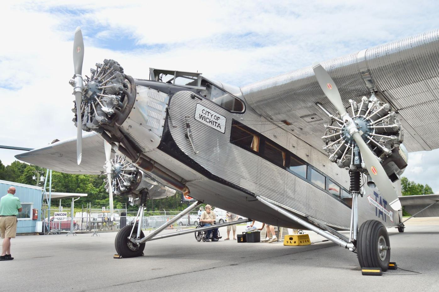 Ford Tri-Motor Airplane At Greeneville Airport