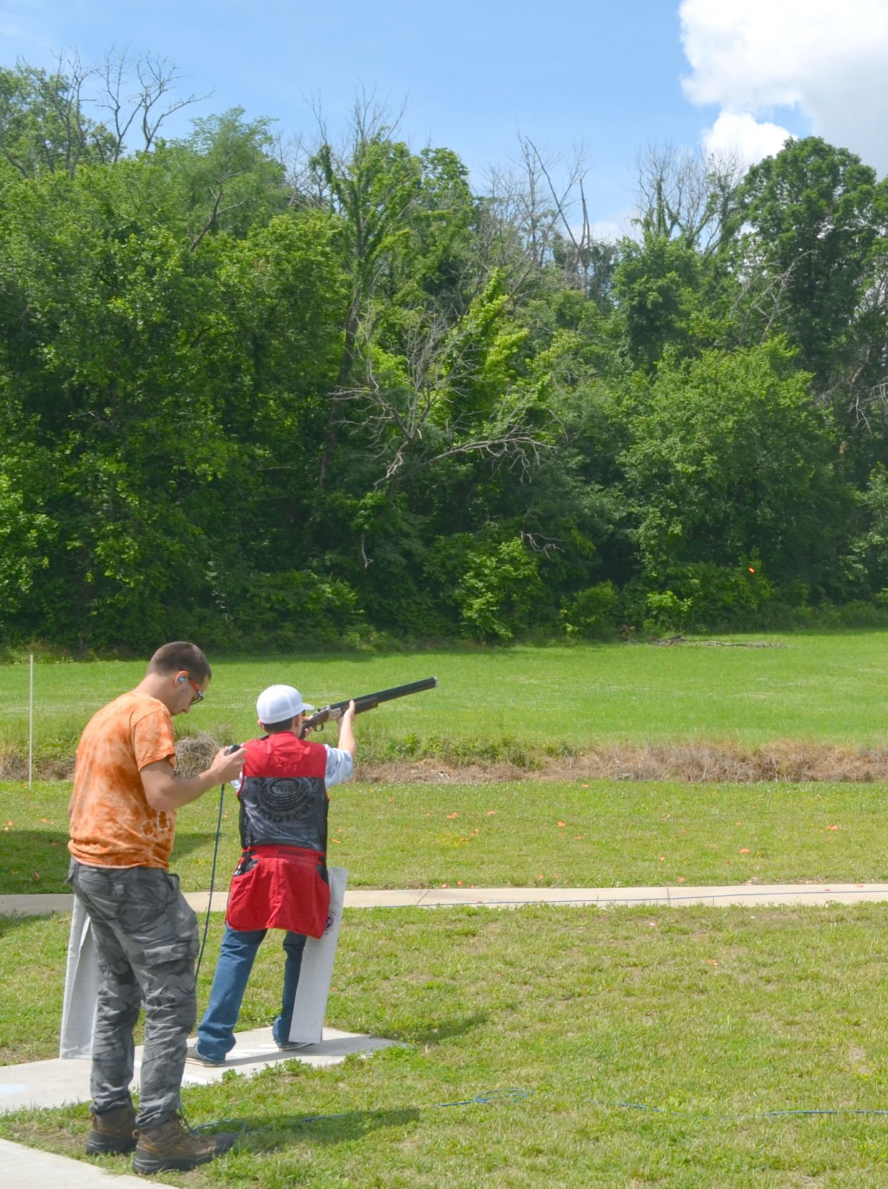 Scholastic Clay Target Program Event Competitor