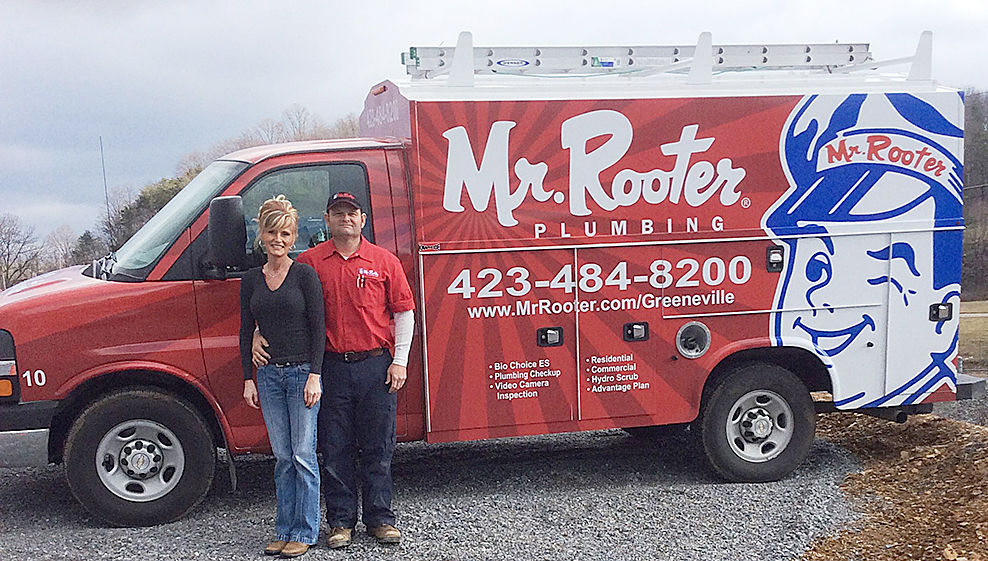 Mc septic services adds mr rooter franchise local for Franchise ad garage