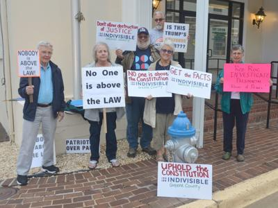 Indivisible Greene County Rally