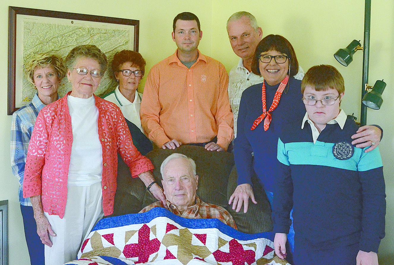 QOV pless with family