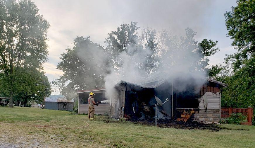 Glenwood Drive Fire