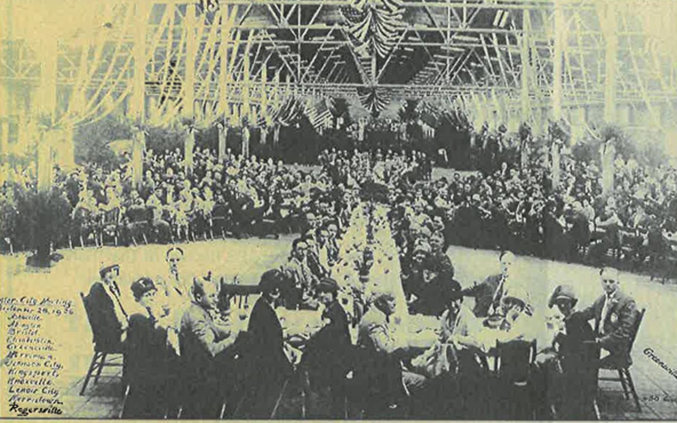 Warehouse Rotary Gathering
