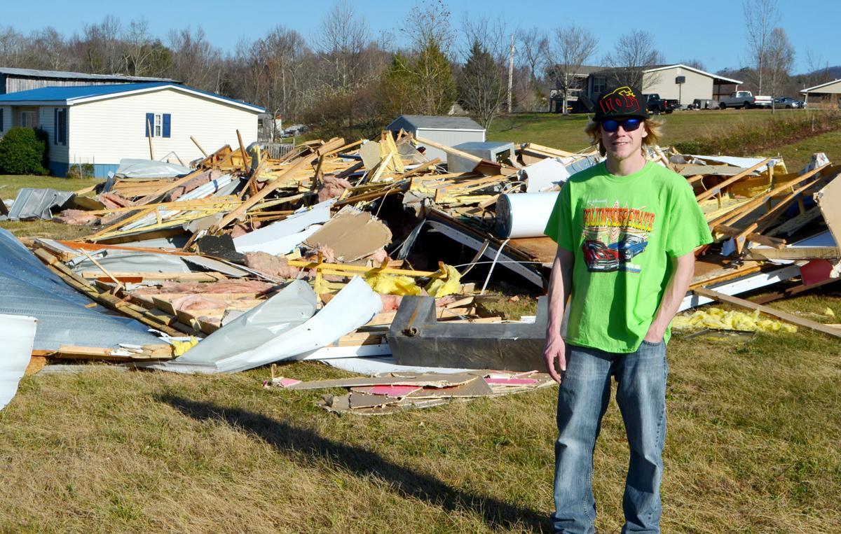 Monday's Windstorm Destroys Home | Local News | greenevillesun.com