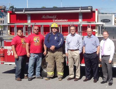Donations Benefit Volunteer Fire Departments
