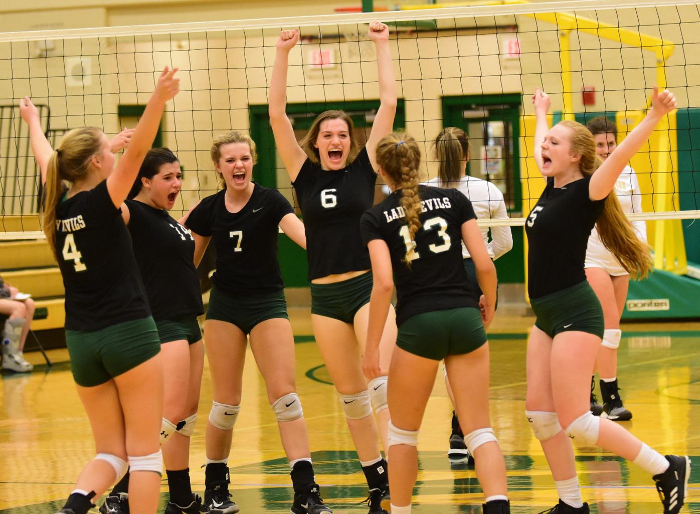 Lady Devils Sweep Their Way To District 2 Aa Volleyball Title Sports Greenevillesun Com