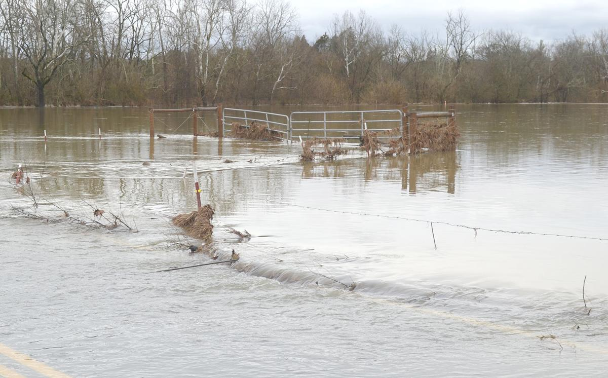 Pastures Flooded Off Pottertown Road