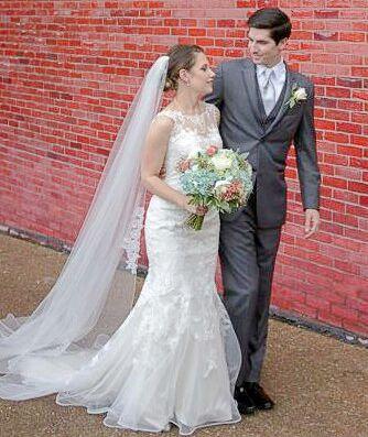 Margaret Lee Holladay Weds Bradley Michael Bernard