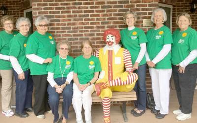 Farm bureau women stock mcdonald house pantry living